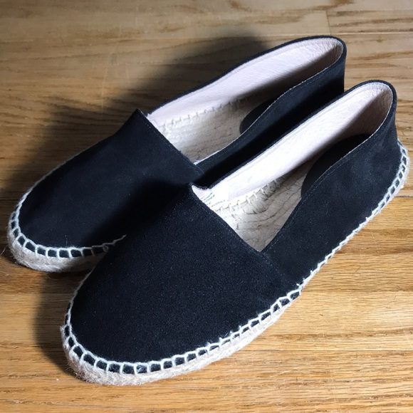 Saks Ave Fifth Avenue Schuhes   Sake Fifth Ave Saks schwarz Suede Espadrilles ... a2cc89